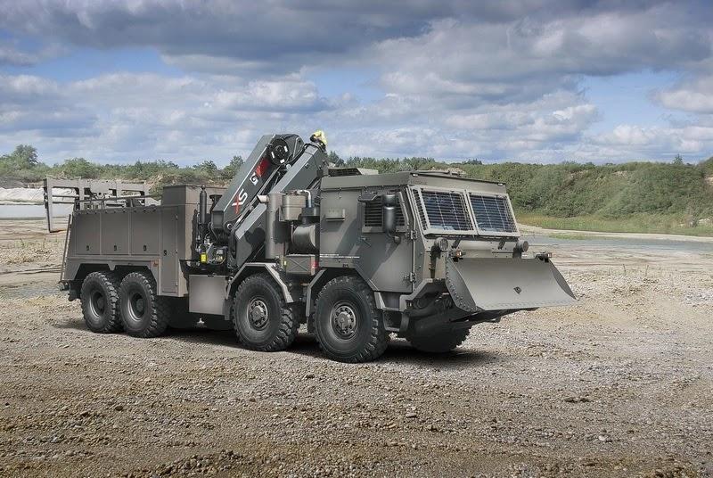 Важкий евакуаційний тягач на шасі Tatra T815-7 8х8
