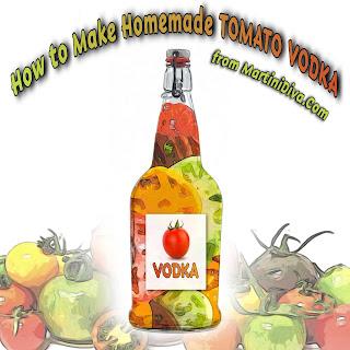 Recipe for TOMATO VODKA