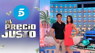 Telecinco emite 'El Precio Justo' contra 'La Ruleta De La Suerte'