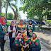 Sinergi Bareng Polres, BPPI Bagikan Masker Gratis di Kawasan Tugu Nol Kilometer Kajen