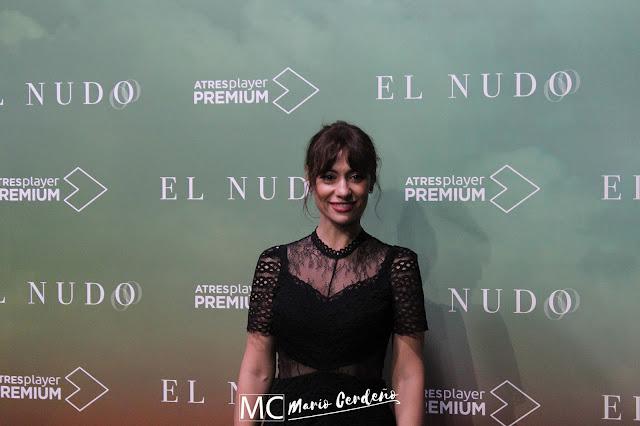 Natalia Verbeke en la presentación de 'El Nudo'