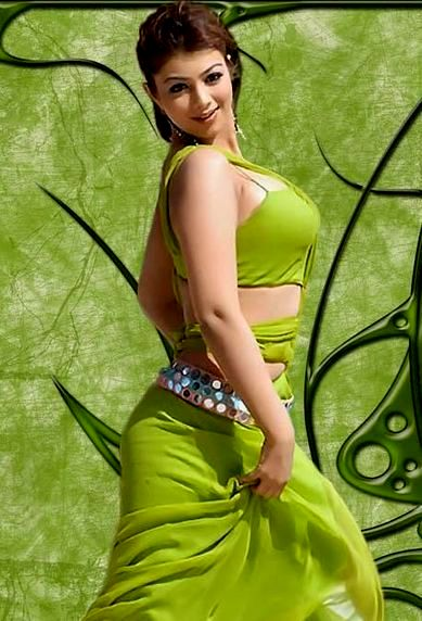 Beautiful Indian Famous Actress in Green Dress