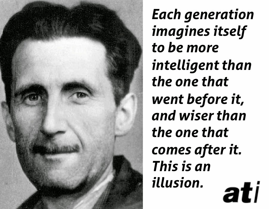 25 Incredible George Orwell Quotes On Power And Politics