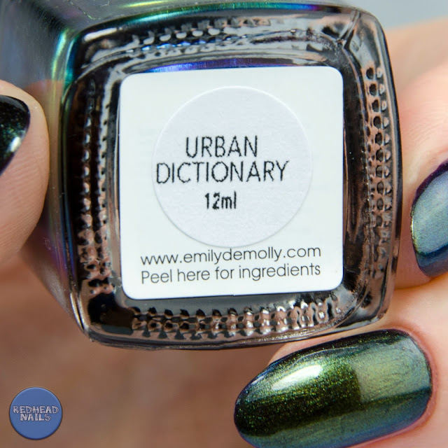 Emily de Molly Urban Dictionary swatch