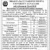 BKNMU Junagadh Recruitment For Teaching Assistant Posts 2019