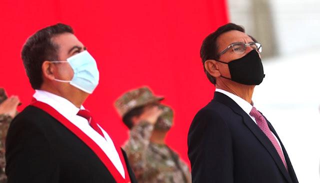 Merino posterga debate sobre vacancia de Vizcarra