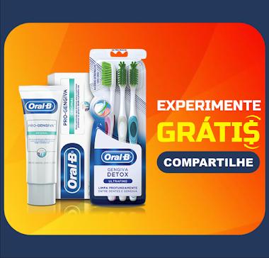 Experimente Grátis Oral-B - Amostras Grátis