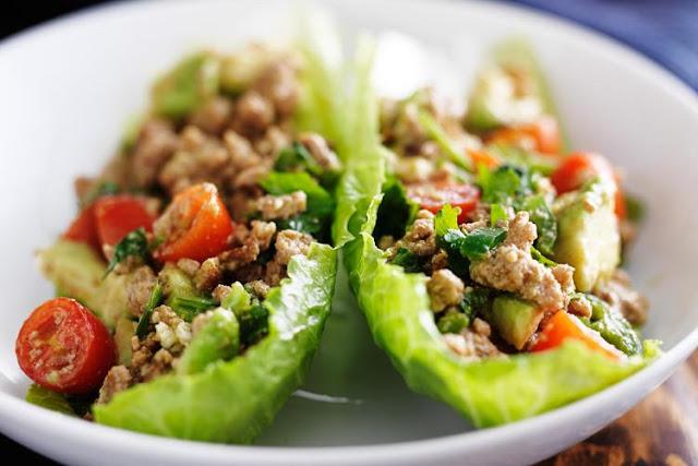 Turkey Taco Lettuce Wraps – low carb