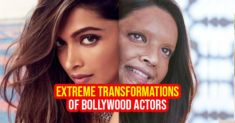bollywood actors extreme transformation and makeover