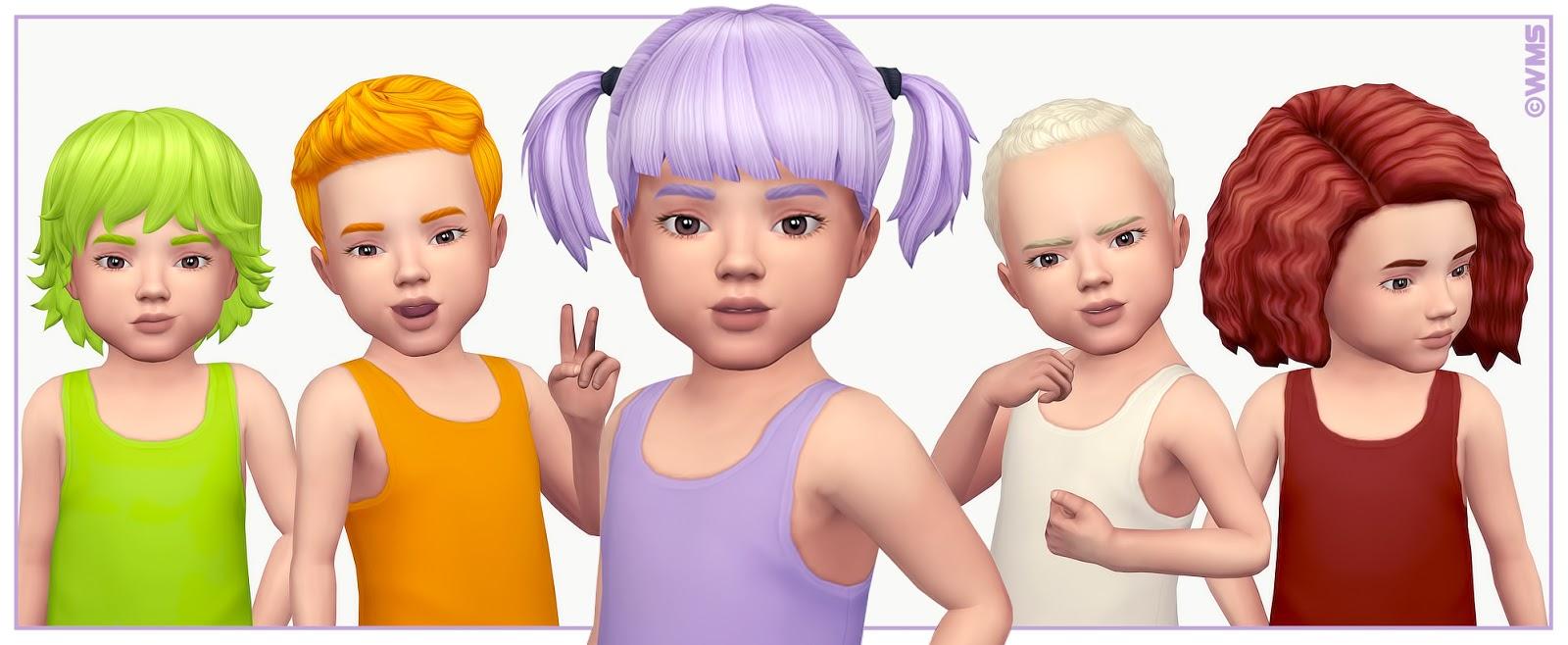 Toddler Hair Recolours