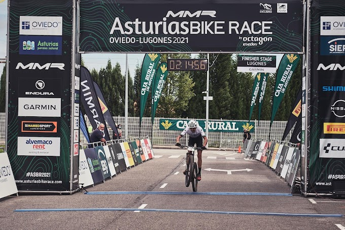 El Triki Beltrán logró el Top 10 en la Asturias Bike Race