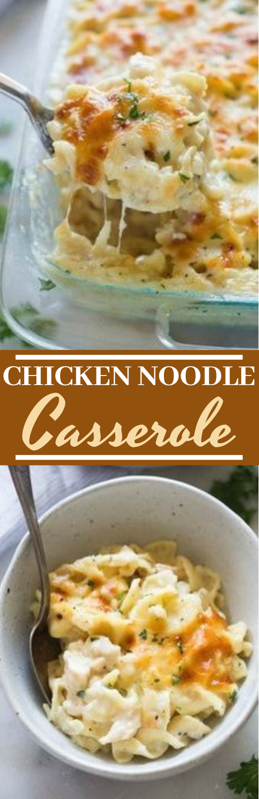 Chicken Noodle Casserole #dinner #recipes