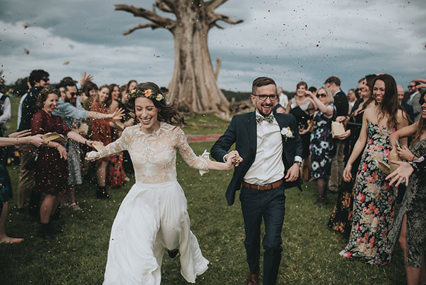 BIODEGRADABLE CONFETTI WEDDINGS AUSTRALIA