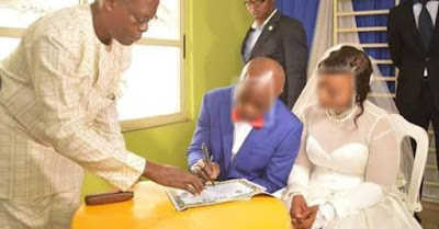Former Prostitute repents, weds in Omega Power church (Photo)