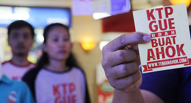 Relawan Makin Masif, Pengumpulan KTP Buat Ahok Lancar Jaya