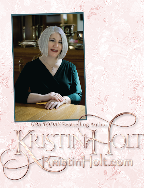 Photograph of USA Today Bestselling Author Kristin Holt