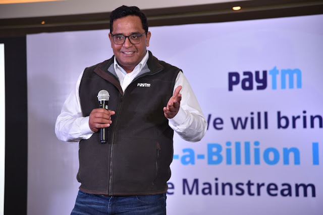 Vijay Shekhar Sharma, Founder & CEO, Paytm