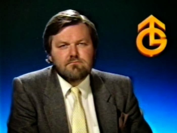 Granada Presenter Jim Pope