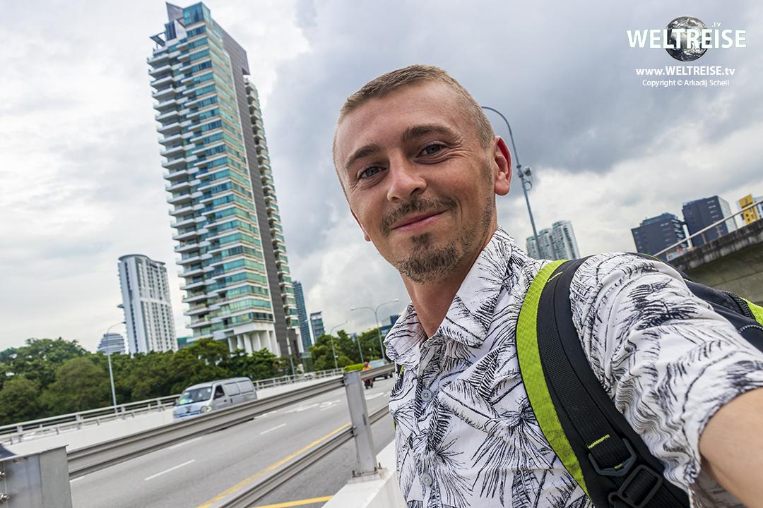 Arkadij auf WELTREISE in Singapur!