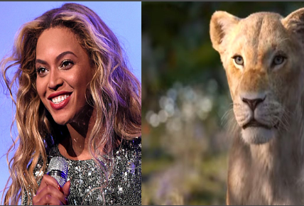 Beyonce Sebagai Nala