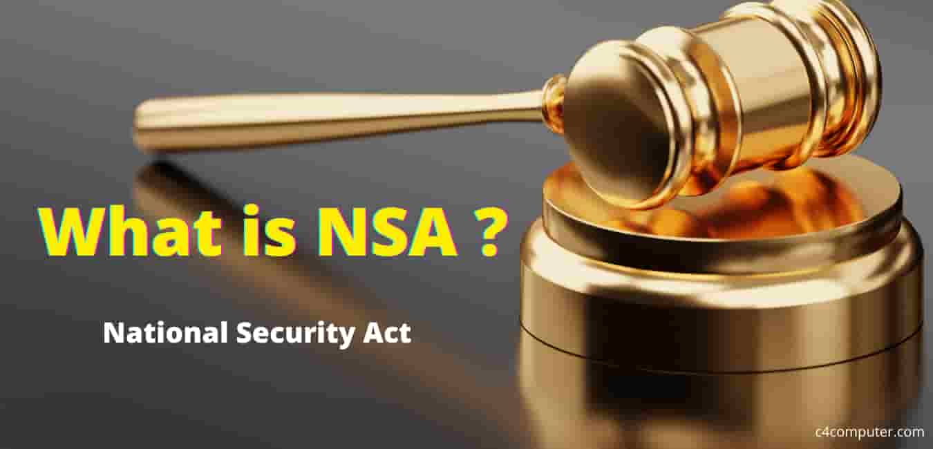 What is NSA in India