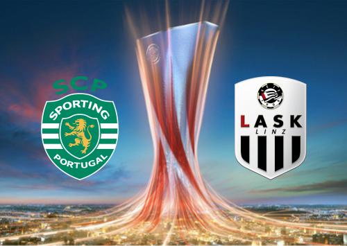 Sporting CP vs LASK -Highlights 3 October 2019