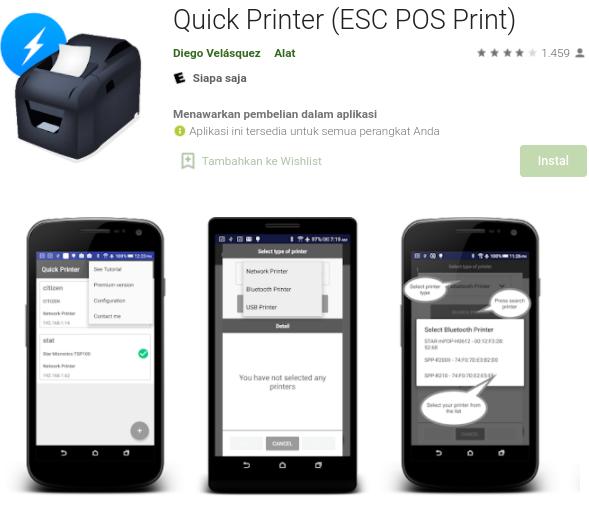 Aplikasi Quick Printer (ESC POS Print) Aplikasi Cetak Struk Offline Android,Aplikasi Cetak Struk Iphone,Software dan Aplikasi,Aplikasi Cetak Struk Online,Aplikasi Print Struk Belanja,Aplikasi Cetak Struk Bluetooth,Software Cetak Struk PC,