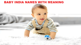 Indian baby names with meaning by Baby India