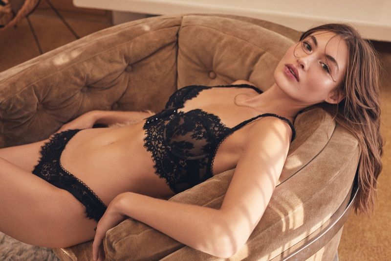 For Love & Lemons x Victoria's Secret Lingerie Campaign