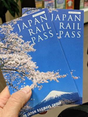 Japan in April: Japan Rail Pass