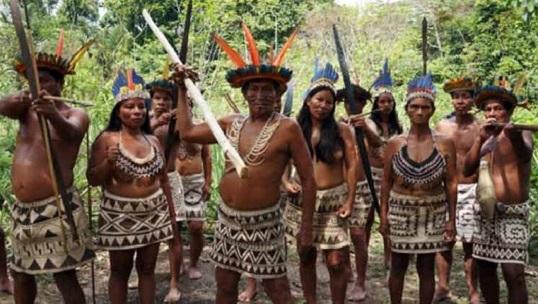 Descubrimiento del Amazonas por Francisco de Orellana Tribu-ind%25C3%25ADgena-amaz%25C3%25B3nica