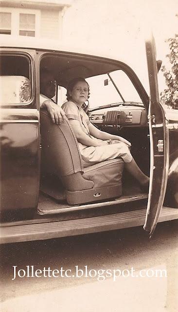 Orvin and Lucille Davis 5 June 1940 https://jollettetc.blogspot.com