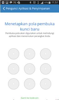 Cara Gampang Lock / Mengunci pada Aplikasi di Android [pola]