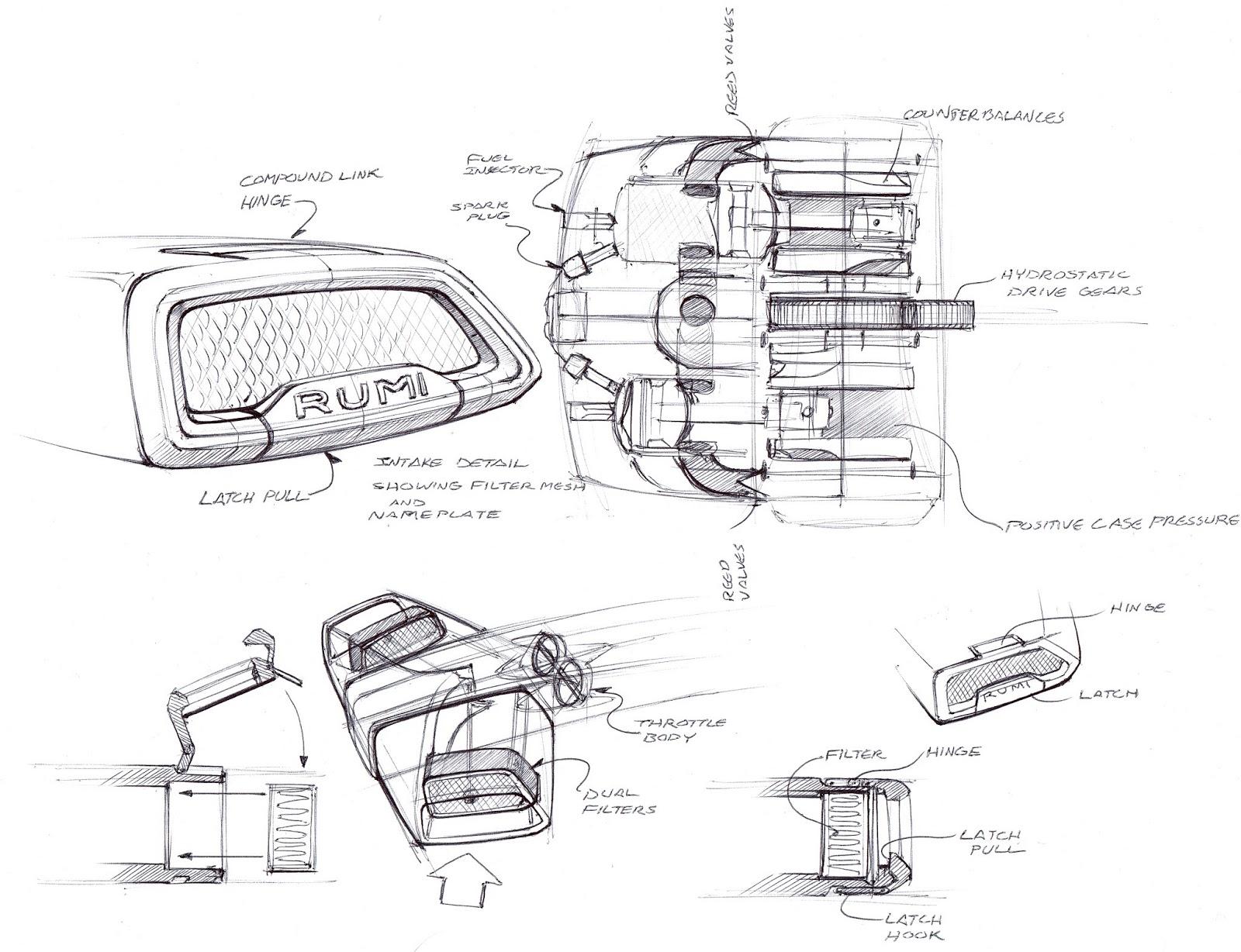 Car Body Sketch Car Modification