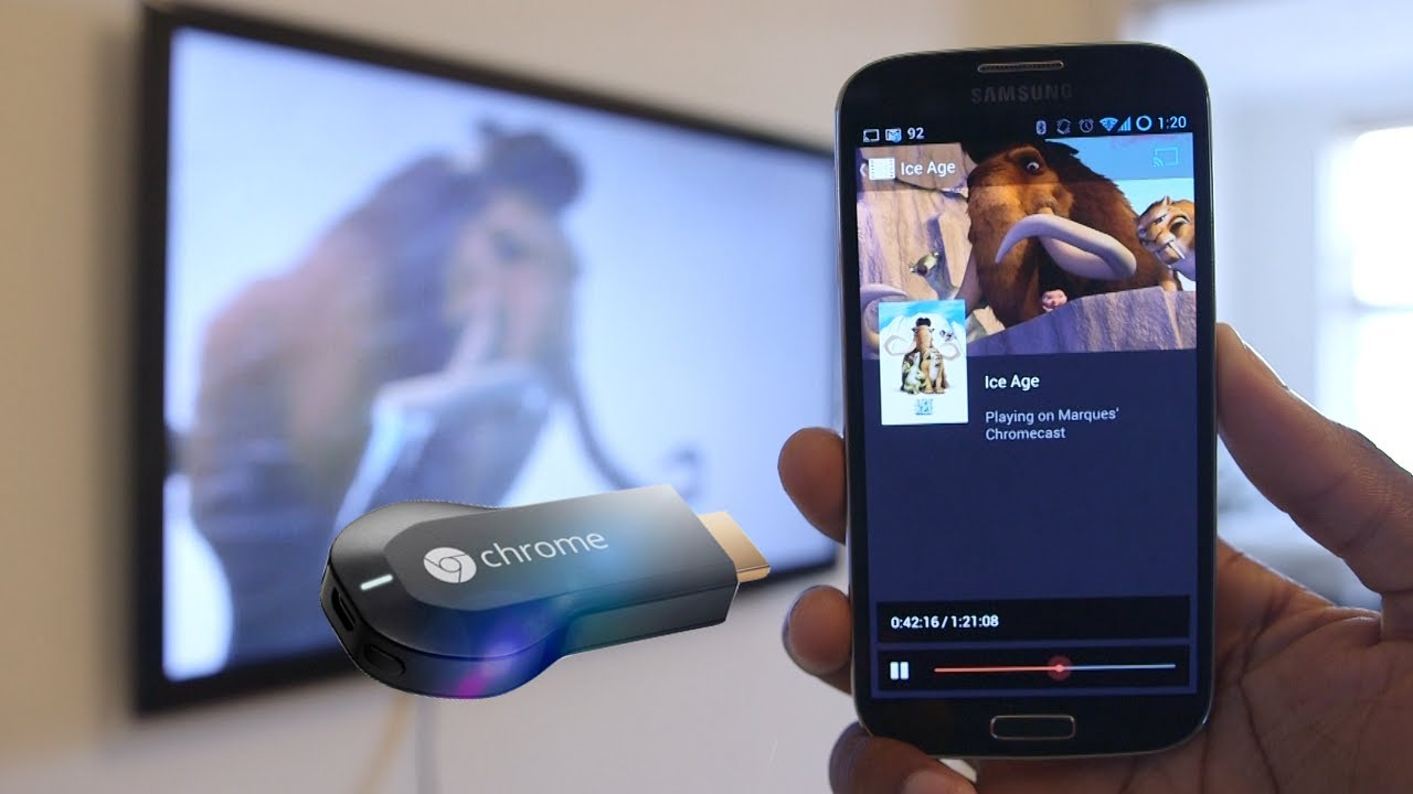 how to connect windows phone to chromecast