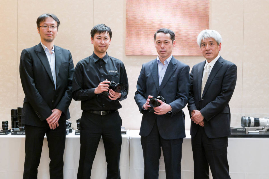 Слева направо: Рэй Окубо, Такуя Мацунага, Кенни Сузуки и Тошиюки Терада