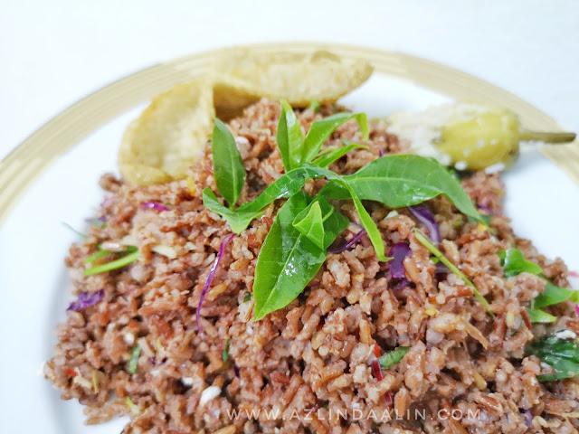 Nasi Ulam Beras Primera Red Rice Resipi Chef Wan