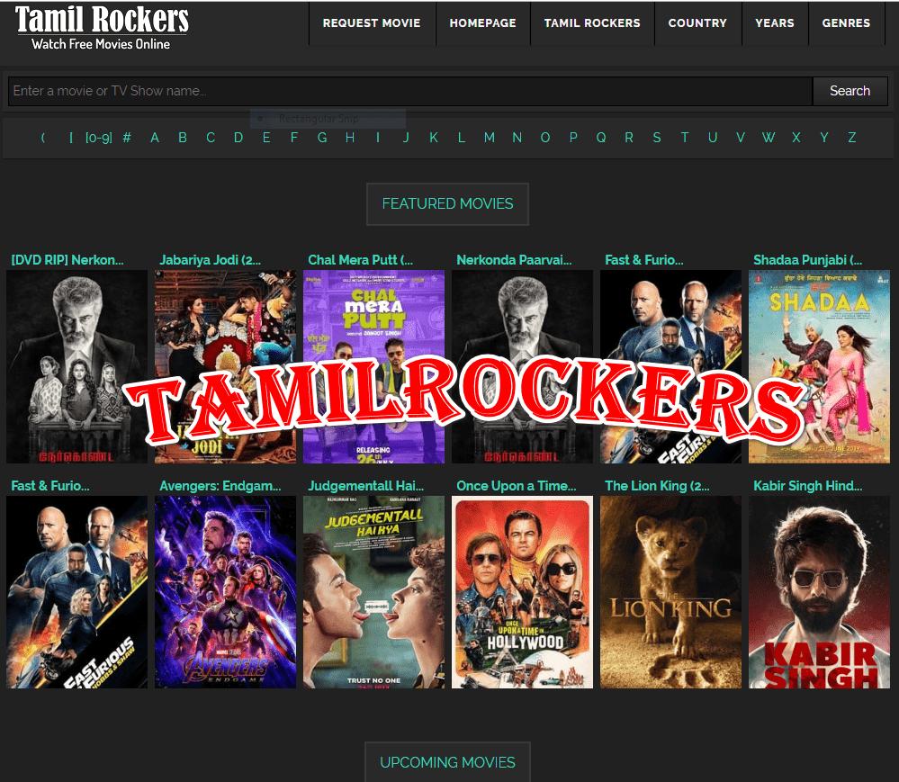 tamilrockers new movies 2018