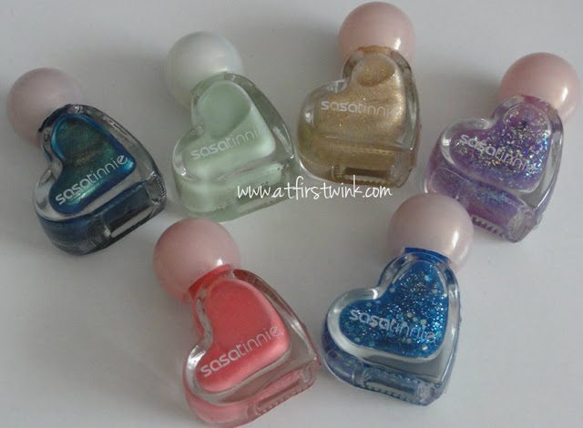 sasatinnie mini nail polishes