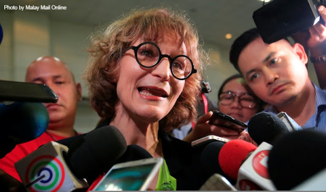 The Filipino people want t declare Agnes Callamard as Persona Non Grata