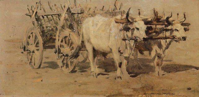 Василий Васильевич Верещагин - Телега для раненых. 1877