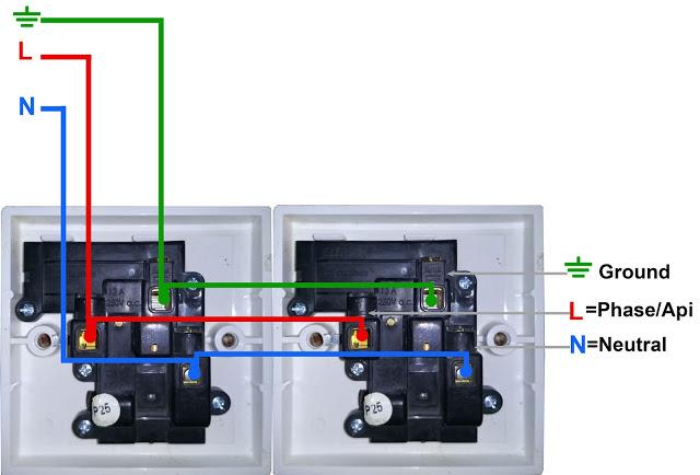 Wiring Diagram Paralel Antar Stop Kontak