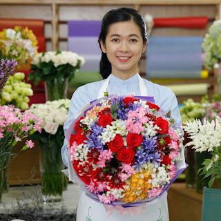 Diễn viên Oanh Kiều giới thiệu điện hoa là gì trong phỏng vấn