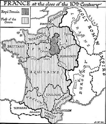 France at the close of the 10th century