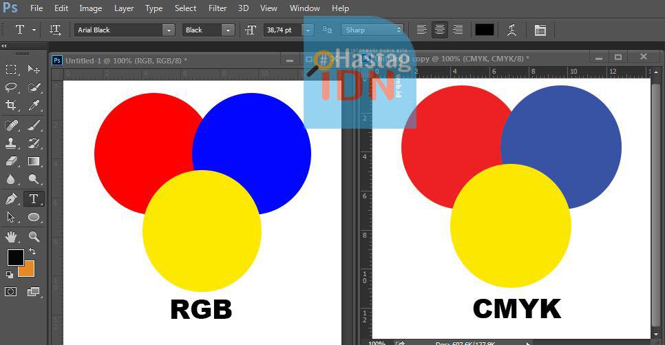 Mode Warna Pada Adobe Photoshop