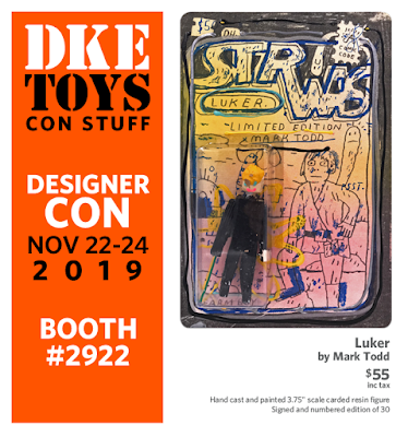 Designer Con 2019 Exclusive Return of the Jedi Luker Star Wars Resin Figure by Mark Todd x DKE Toys