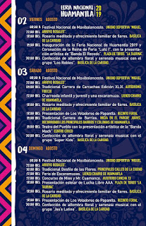 programa feria huamantla 2019