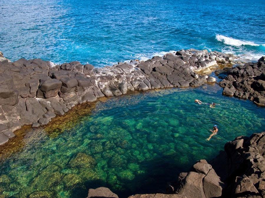 Amazing Queen S Bath In Kauai Hawaii Island Masspix