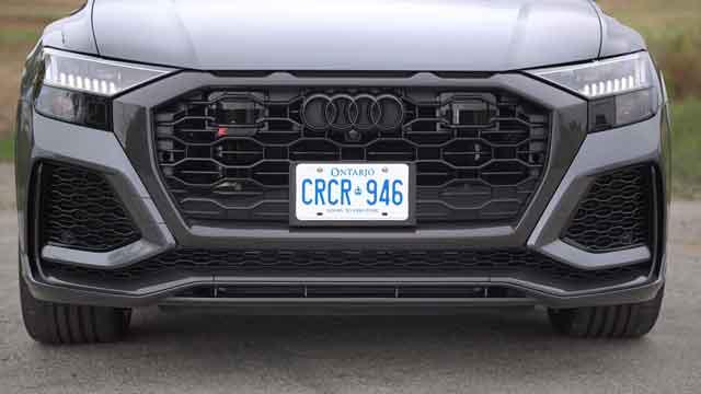 التصميم الخارجي لسيارة أودي Q8 2021
