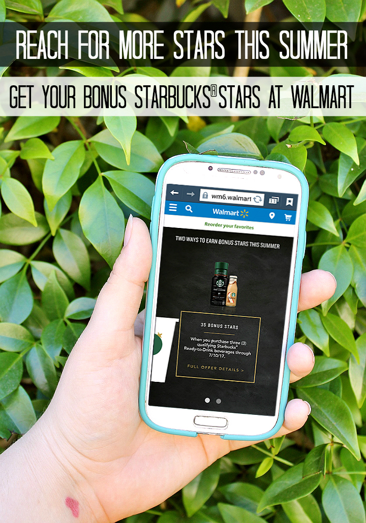 Stock up on your favorite Starbucks® Frappuccino® bottled beverages at Walmart now through 7/11/17 and get 35 bonus reward stars when you upload tour receipt! #CraftYourCool #AD http://cbi.as/88r0d